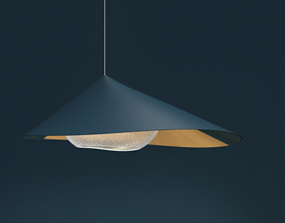 Pearl and Shell : Pendant Lamp