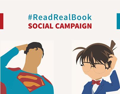 #ReadRealBook
