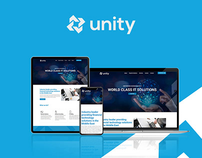 Website Design for Unity Infotech by Fresh Mind Ideas
