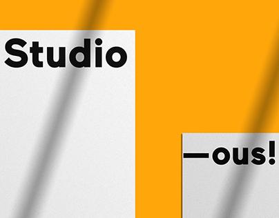 Brand Identity - -ous! Studio