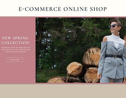 E-commerce online clothes shop - MUA