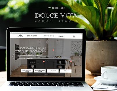 Website for the furniture shop
