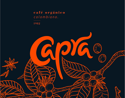 Capra, organic coffee, from Colombia.