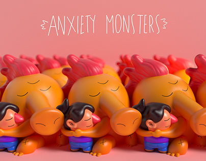 Anxiety Monsters Fanzine