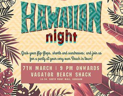 Beach Restaurant Social Media Designing