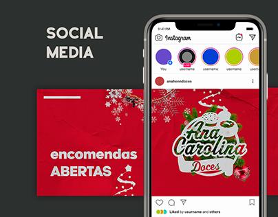 Ana Henn Doces - social media