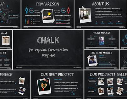 CHALK - POWERPOINT PRESENTATION TEMPLATE PPTX