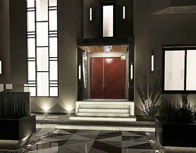 Landscape Design of a Residential Villa