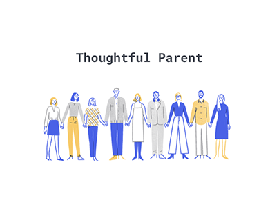 UI/UX Thoughtful parent