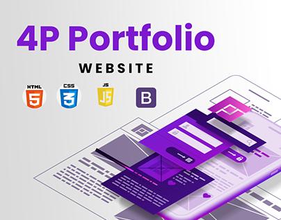 4P website portfolio