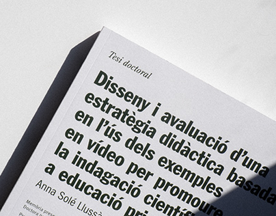 Anna Solé Doctoral Thesis Cover