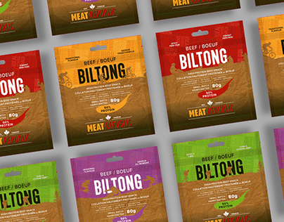 Meat Republic Product Packaging