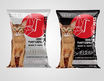 "SAVANNA ""Origami"" Japanese style packaging design"