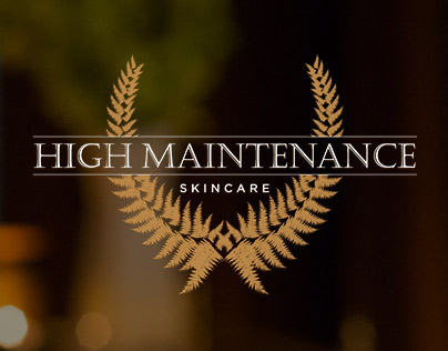 High Maintenance Skincare // Photo + Web
