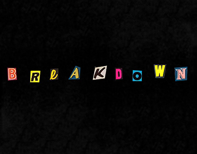 Breakdown — Animation project
