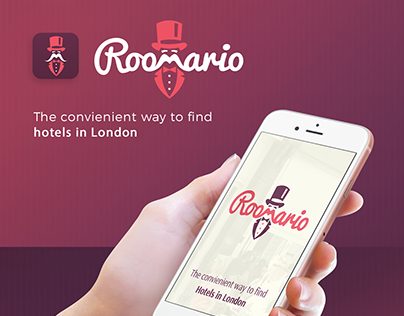 Roomario - Branding - UI UX