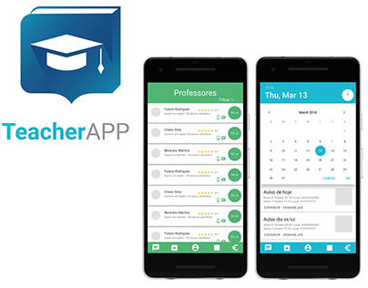 UX and UI - TeacherAPP