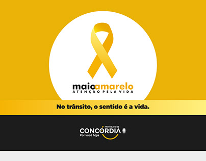 Maio Amarelo | Prefeitura de Concórdia