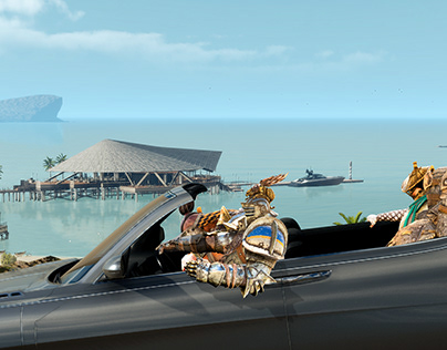 For Honor / Final Fantasy XV: Vacation