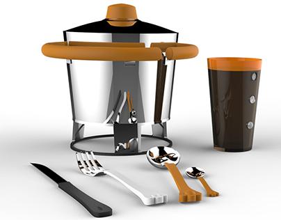 Kit de Cozinha Tatile