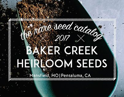 Rare Seed Catalog Project