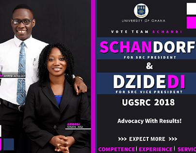Campaign Fliers - Team SCHANDI