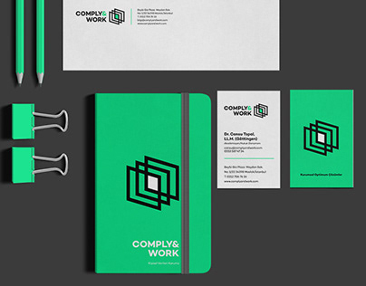COMPLY&WORK Identity / Logo Design / Logo ve Kurumsal