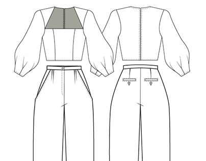 SS'20 COLLECTION [ Technical Sketch ]