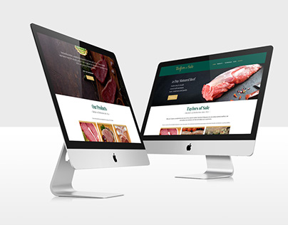 Butchers Website Design