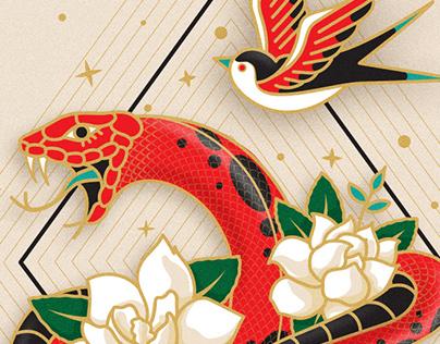 Snake - bird
