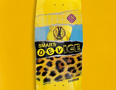Smartr Stinger skateboard graphic