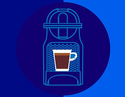 Nespresso Illustrations