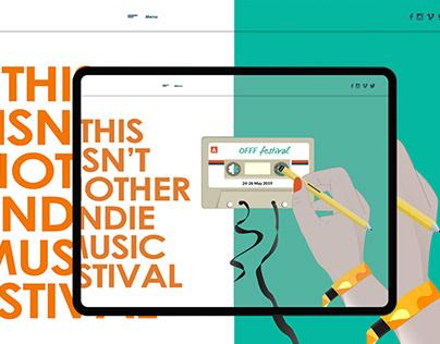 Propuesta web - Festival OFFF