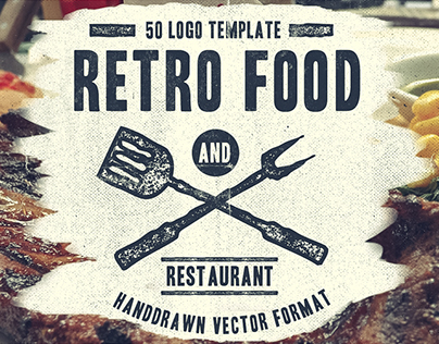 Retro Food Logo