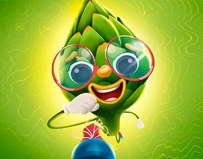 Hızlı & Sebzeli - Veggie Run Game