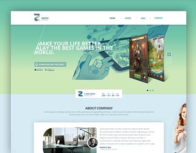 Zenith Mobile - Website