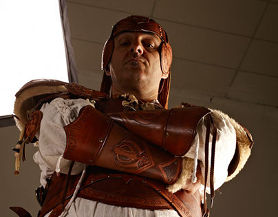 VENTOFIERO : leather costume for LARP