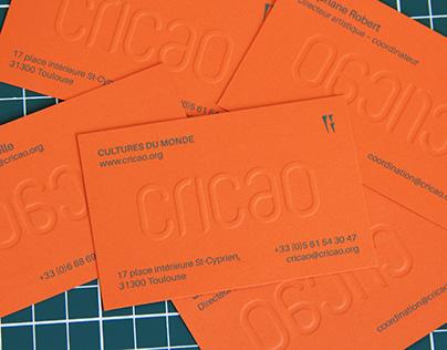Cricao - refonte d'identité