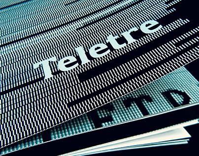 TELETRE (Шрифт для набора телевизионных титров)