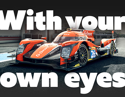 G-Drive Racing Team | Promo page about 24h of Le Mans