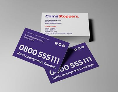 Crimestoppers Stationery