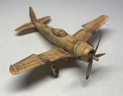 P-47D Thunderbolt, woodcraft