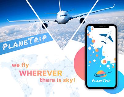 PlaneTrip App
