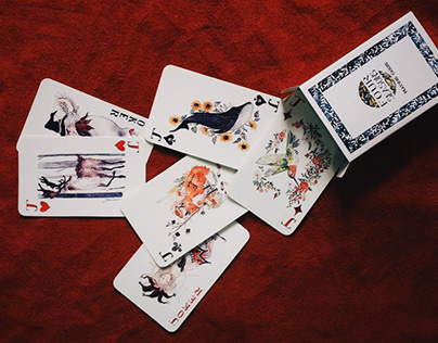 FOUR SEASONS | Playingcard | Illustration project