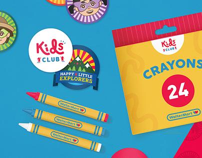 WalterMart Kids Club: Happy Little Explorers