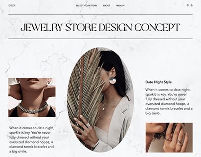Jewelry Store Design Concept