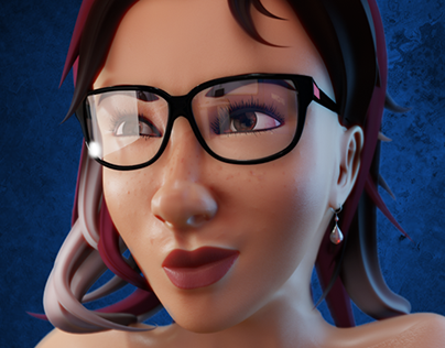 3D Female Face Study