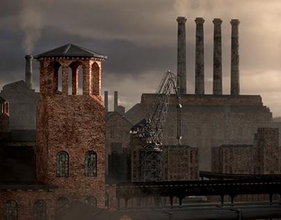 Industrial #Kitbash3DContest