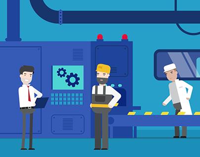 Industry 4.0 - Explainer video