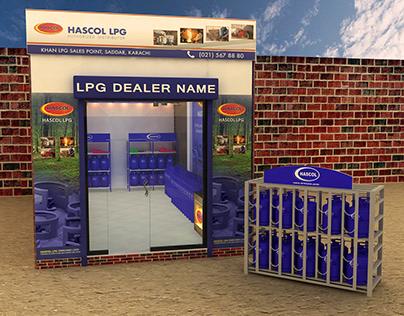 HASCOL SHOP - 3D MODEL
